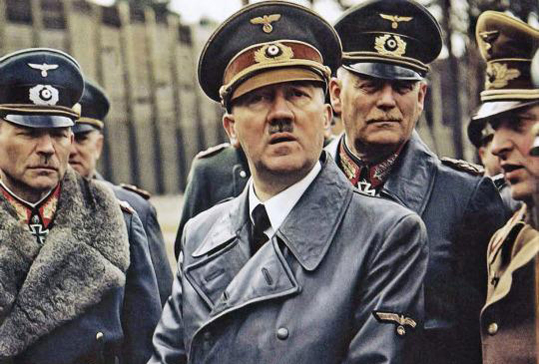 Hitler with General Guderian and Field Marshal Keitel in Rügenwalde, Germany, 19 March, 1943